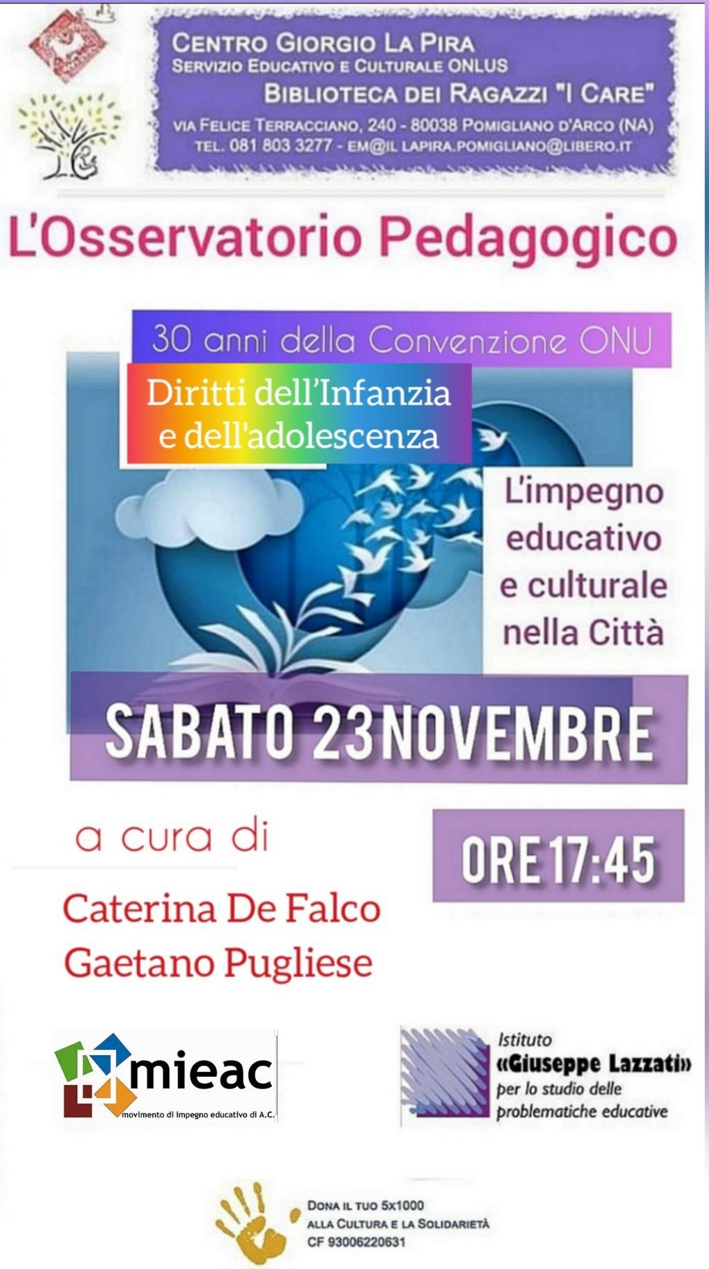 Via Romani Pomigliano D Arco centro giorgio la pira & biblioteca dei ragazzi i care